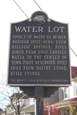 Water Lot Marker image. Click for full size.