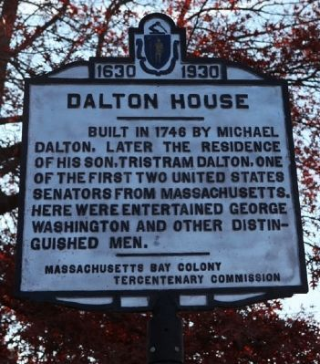 Dalton House Marker image. Click for full size.