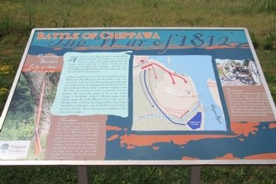Chippawa Battlefield Panel 2 Marker image. Click for full size.