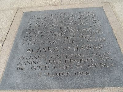Alaska and Hawaii Marker image. Click for full size.