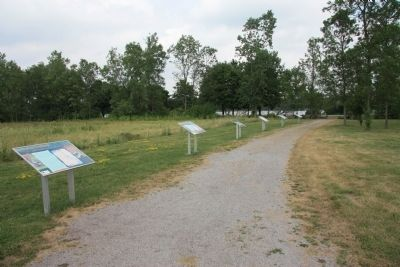 Chippawa Battlefield Park Walking Tour image. Click for full size.