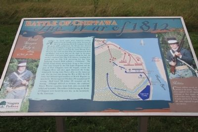 Chippawa Battlefield Panel 5 Marker image. Click for full size.
