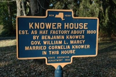 Knower House Marker image. Click for full size.