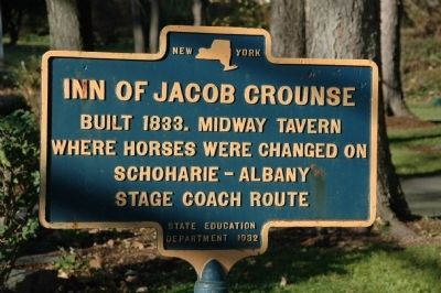 Inn of Jacob Crounse Marker image. Click for full size.