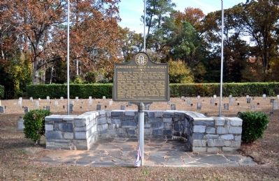 Confederate Dead & Hospitals Marker image. Click for full size.