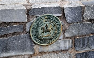 The Seal of the Confederacy image. Click for full size.