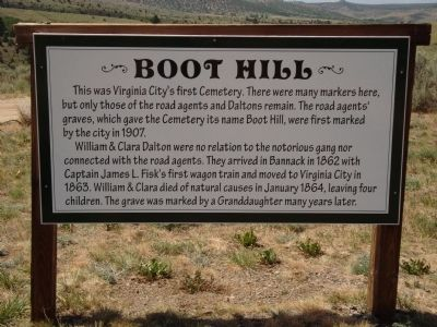Boot Hill Marker image. Click for full size.