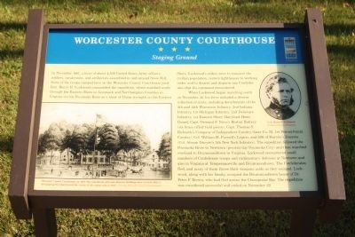 Worcester County Courthouse Marker image. Click for full size.