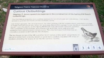Curious Outbuildings Marker image. Click for full size.