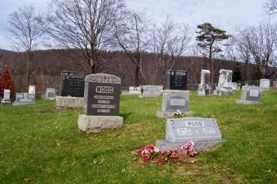 Gravesite of James Ward Wood image. Click for full size.