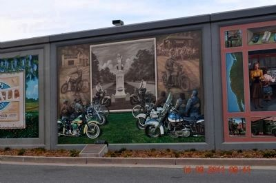Chief Paduke Marker & Motorcycles Mural image. Click for full size.