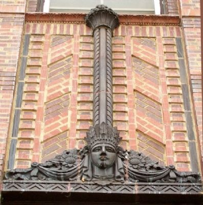 Hotel Sunflower Mezzanine Ornamentation image. Click for full size.