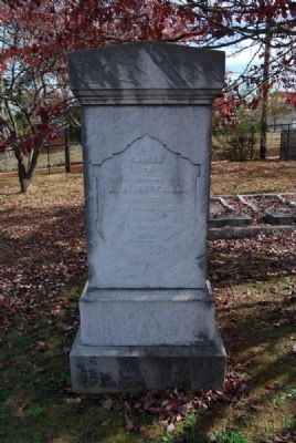A.N. McFall Tombstone image. Click for full size.