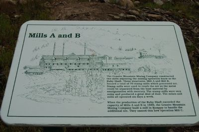 Mill A and B Marker image. Click for full size.