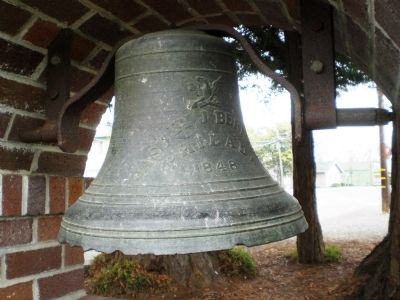 The Pioneer Christian Church Bell image. Click for full size.