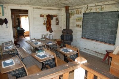 Montana's Oldest Standing School image. Click for full size.