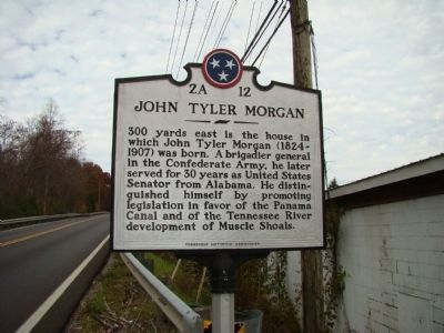 John Tyler Morgan Marker image. Click for full size.