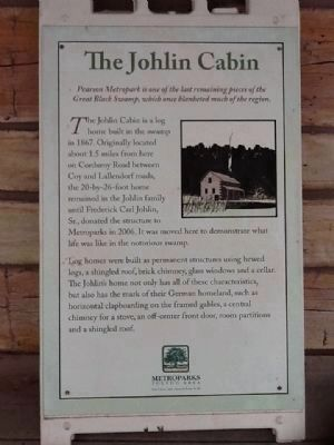 The Johlin Cabin Marker image. Click for full size.