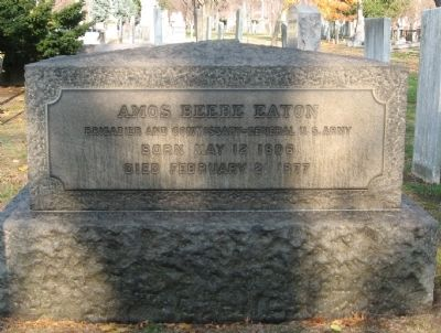 Amos Beebe Eaton Marker image. Click for full size.