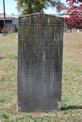 Hezekiah Riley Tombstone<br>Carved by W.T. White image. Click for full size.
