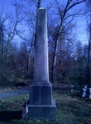 Isaac Dutton Barnard Monument image. Click for full size.