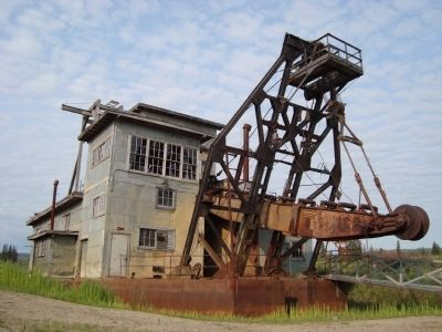 Gold Dredge at Chicken image. Click for full size.