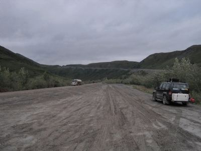 The Dalton Highway, AKA The North Slope Haul Road image. Click for full size.