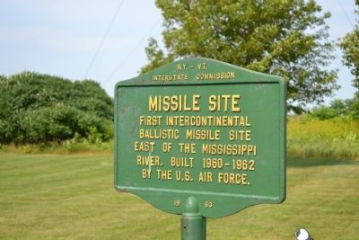 Missile Site Marker image. Click for full size.