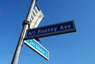Art Rooney Avenue image. Click for full size.