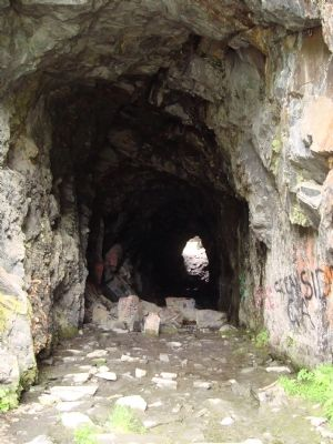 The Old Railroad Tunnel image. Click for full size.