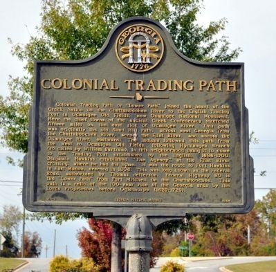 Colonial Trading Path Marker image. Click for full size.