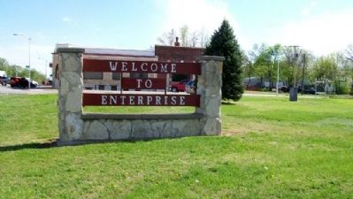 Welcome to Enterprise Sign image. Click for full size.