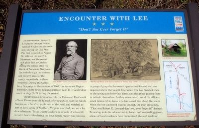 Encounter with Lee Marker image. Click for full size.