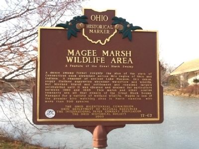 Magee Marsh Wildlife Area Marker image. Click for full size.