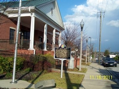 Pell City, Alabama Marker image. Click for full size.