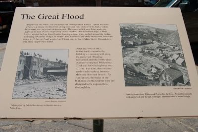 The Great Flood Marker image. Click for full size.