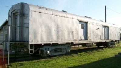 Rock Island Railroad Baggage Car image. Click for full size.
