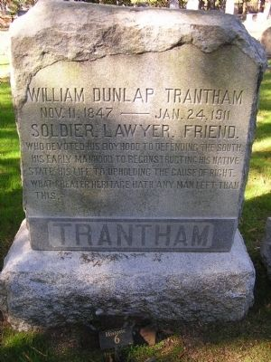 William Dunlap Trantham image. Click for full size.