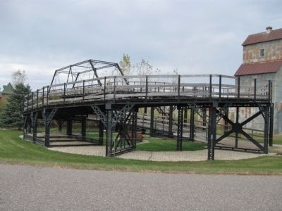 Smaller Scale Replica Bridge image. Click for full size.