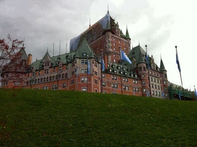 Le Château Frontenac image. Click for full size.