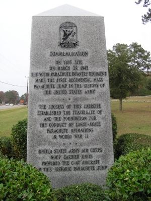 Our Honored Dead Marker ~ South Face image. Click for full size.