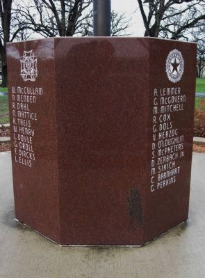 Shakopee Soldiers Monument image. Click for full size.