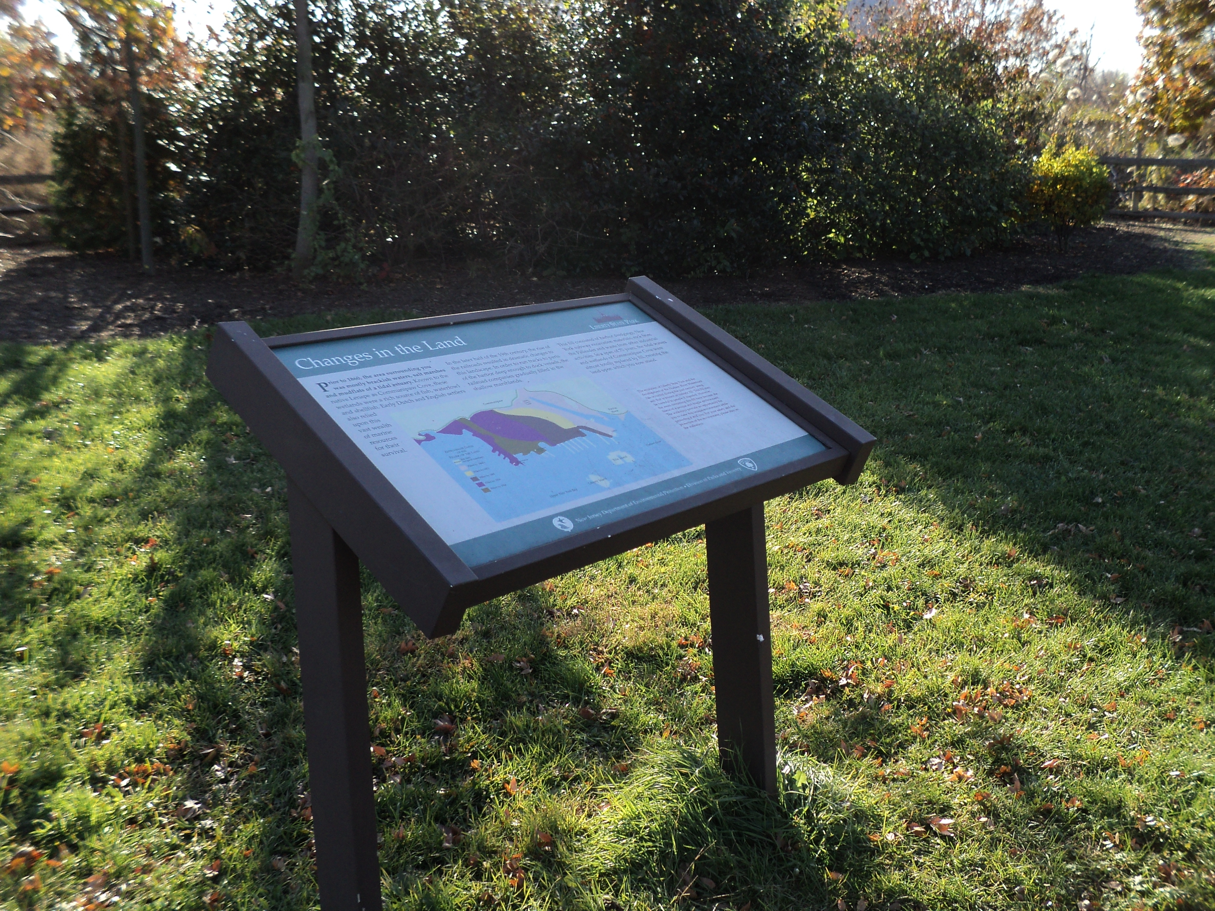 Changes in the Land Marker