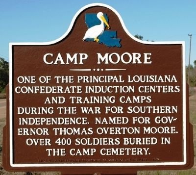 Camp Moore Marker image. Click for full size.