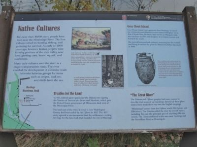Native Cultures Marker image. Click for full size.