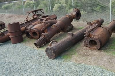 Cornish Pump Relics image. Click for full size.
