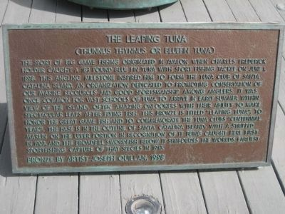 The Leaping Tuna Marker image. Click for full size.