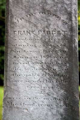 Frank Padget Memorial image. Click for full size.