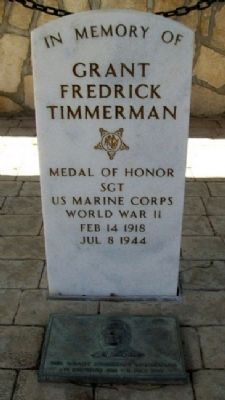 Grant Frederick Timmerman Memorial image. Click for full size.