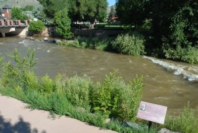 Greeley's Crossing of Clear Creek image. Click for full size.